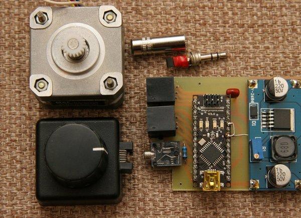 Ascom telescope focuser with arduino astrojolo for Arduino nano motor control