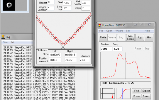 Arduino telescope focuser real life tests