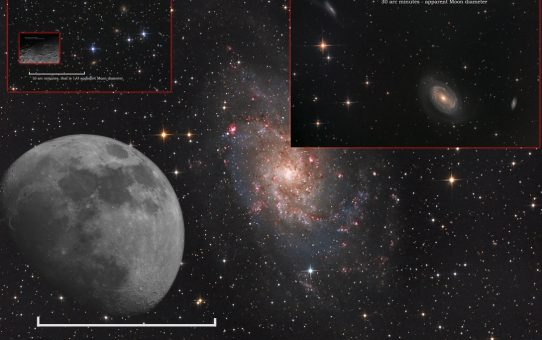 Coin throw contest part I - galaxies
