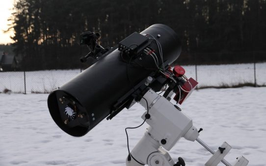 New telescope first light