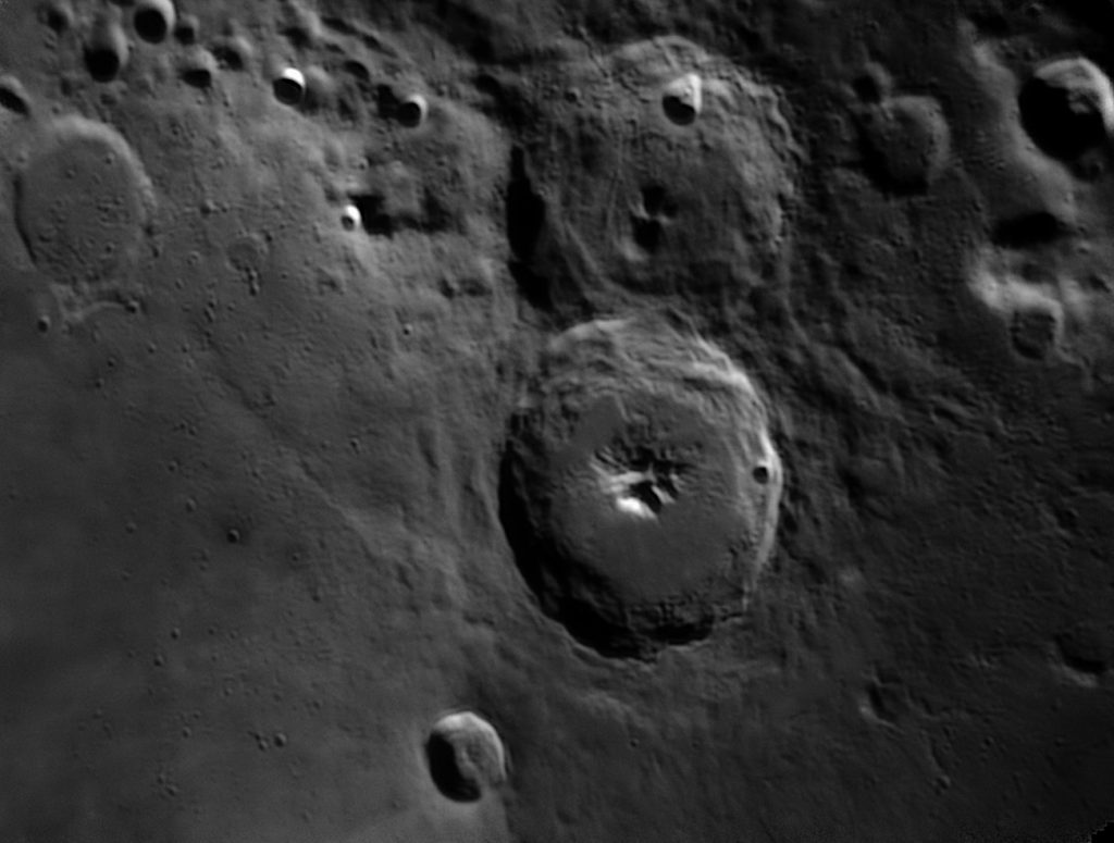 Theophilus and Cyrillus craters