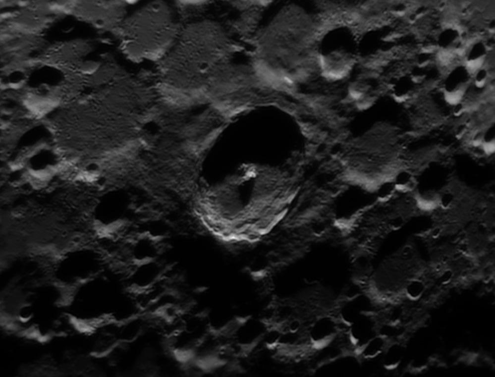 Tycho lunar crater - IR pass filter