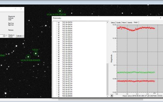 Hunt for TrES-3b exoplanet transit