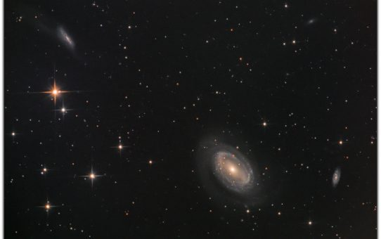 Galaxies in coma