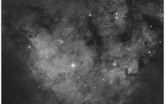 NGC7822 star nursery