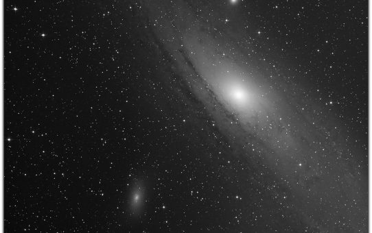 Andromeda by the way