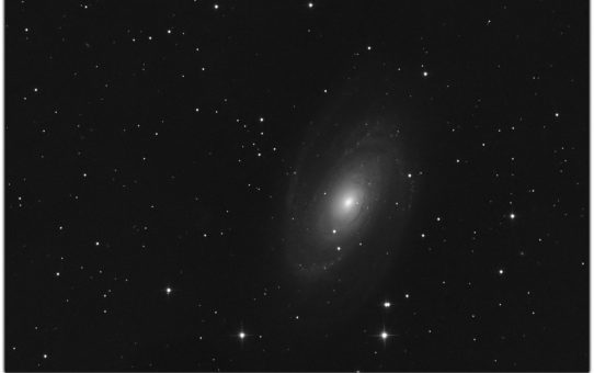 Bode's Galaxy for coma test