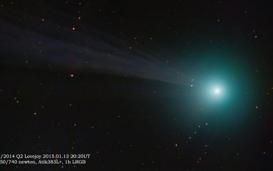 Comet to be seen