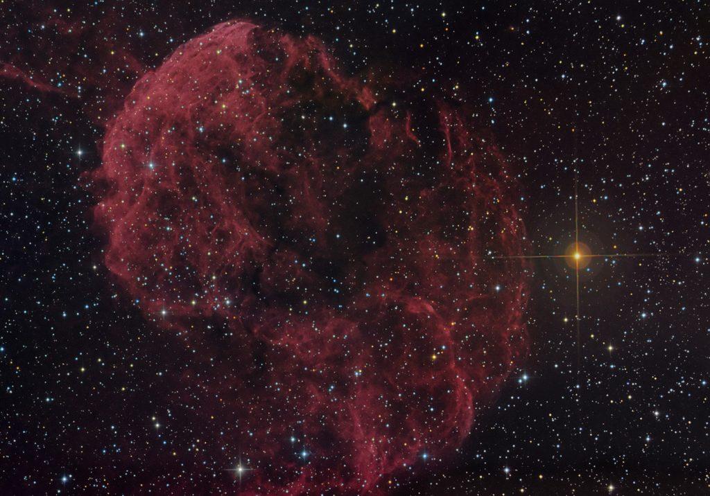 IC443 Jellyfish nebula in Gemini