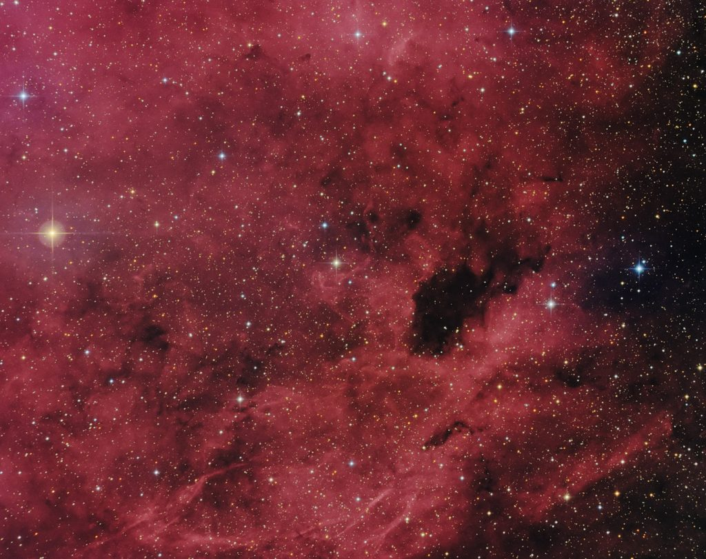 Barnard 343 and 344 in Cygnus