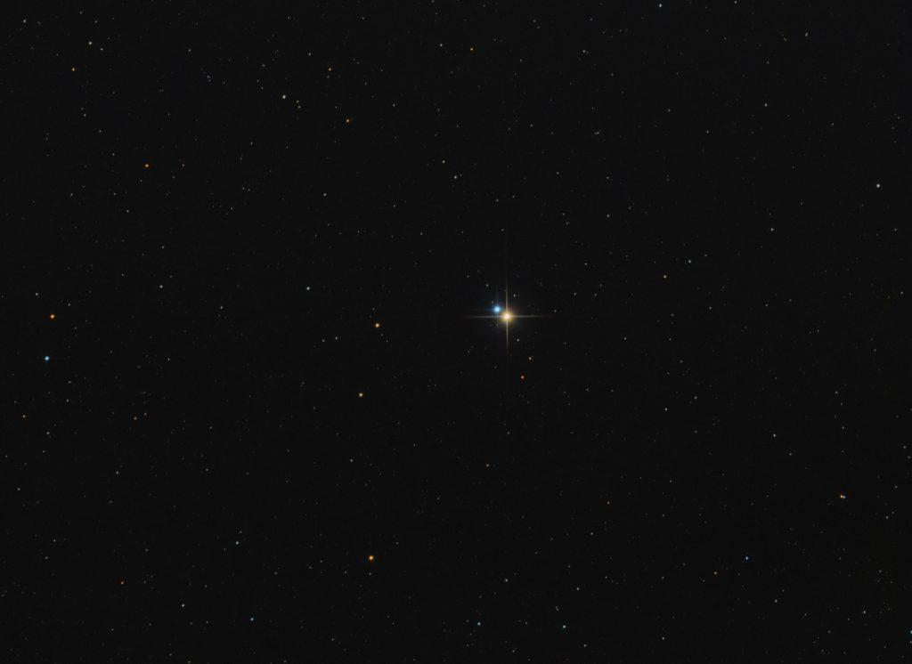 Albireo double star in Cygnus