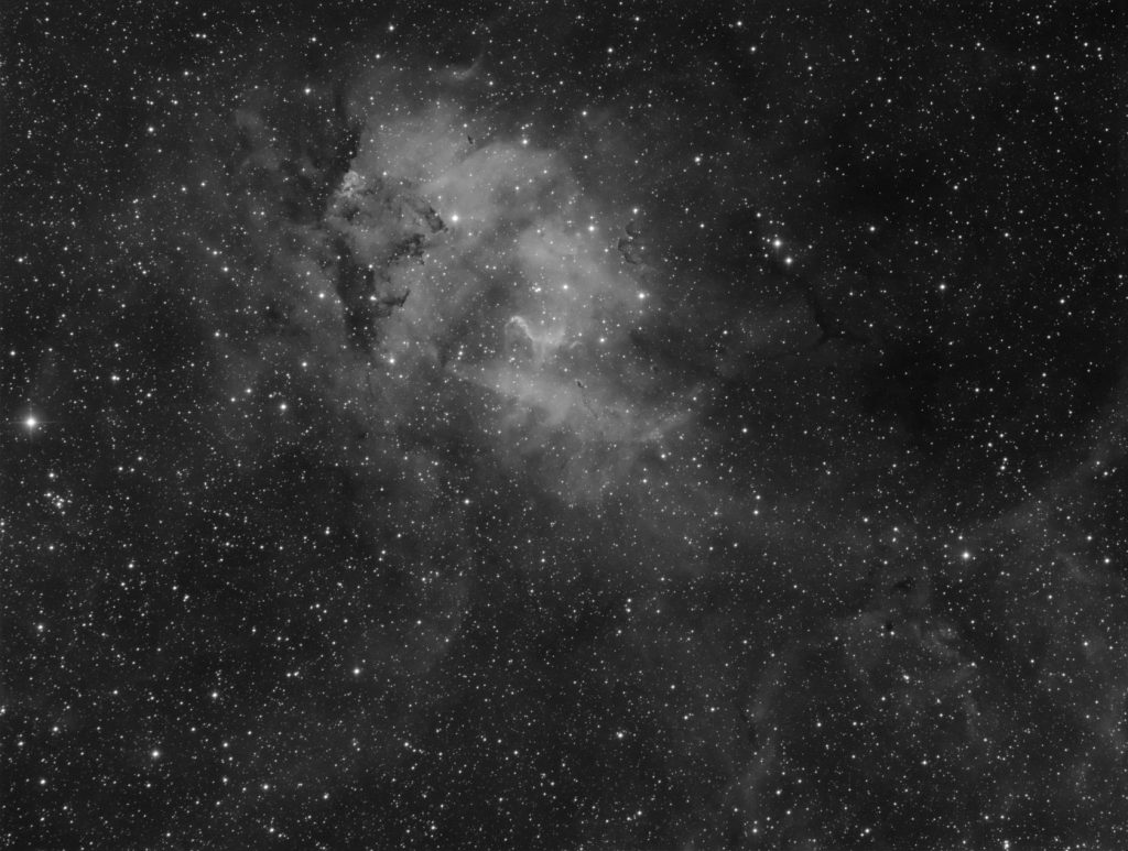 Sharpless 132 nebula (Lion Nebula)