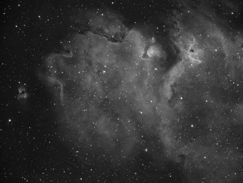 IC1848 - eastern part of Soul nebula