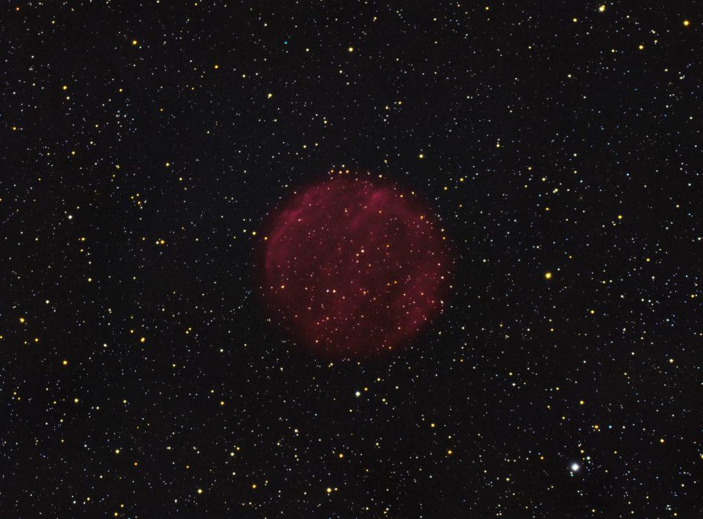 PuWe1 planetary nebula in Lynx