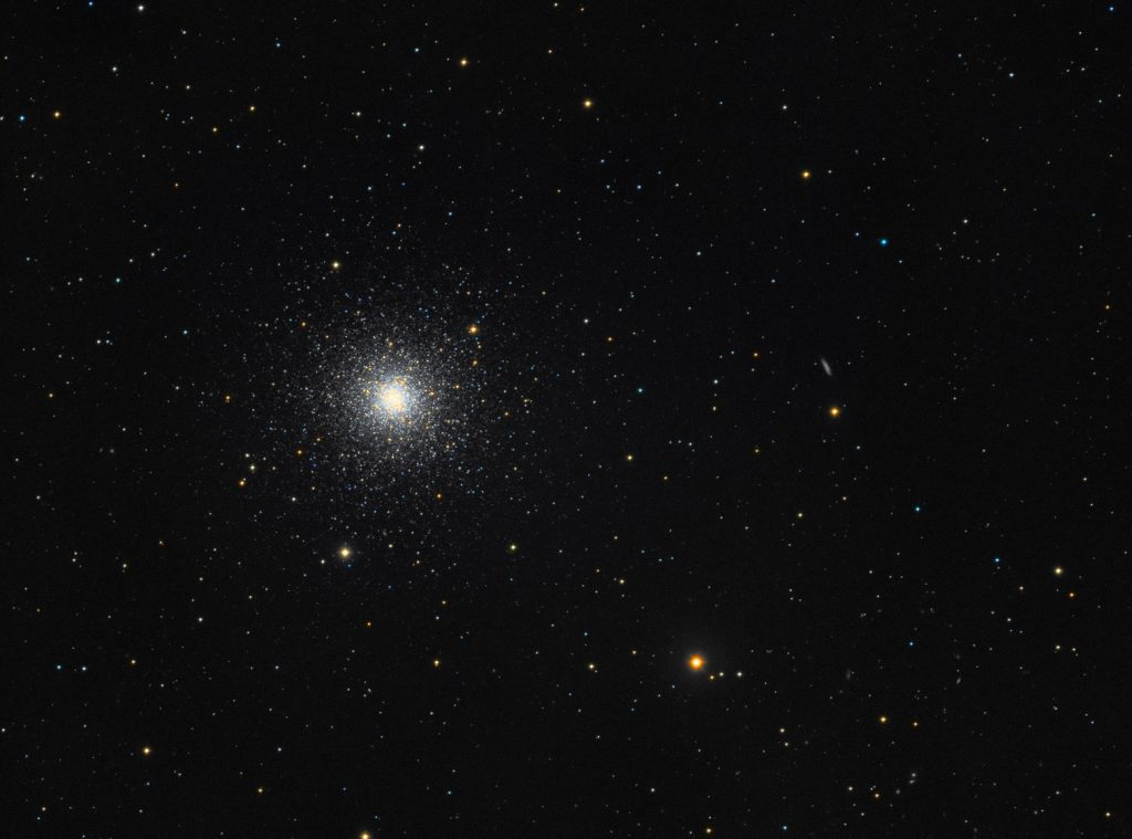 M3 globular cluster in Canes Venatici
