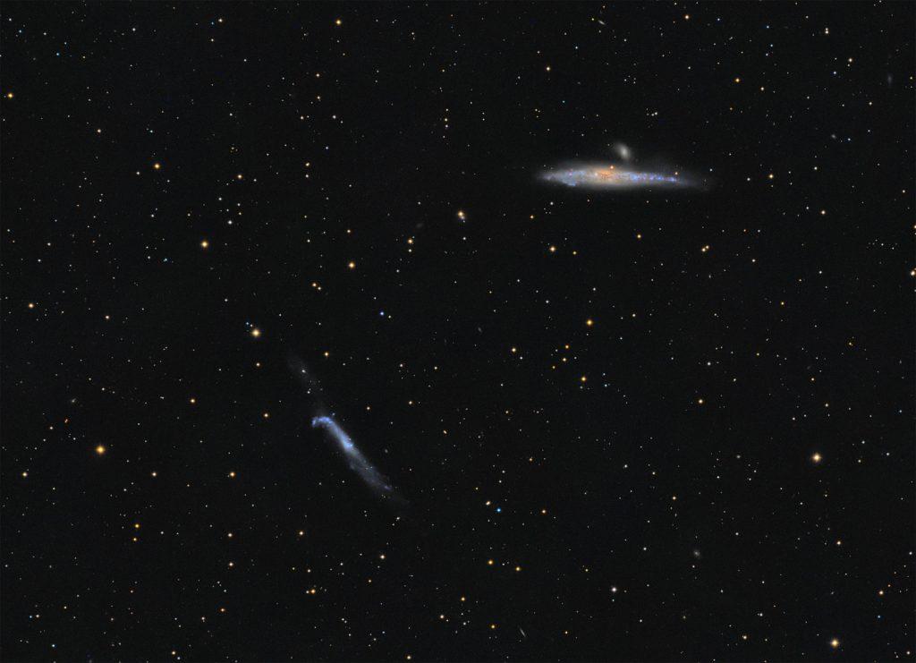 NGC4631 and NGC4656 galaxies