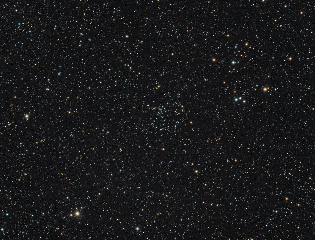 NGC6811 open cluster in Cygnus