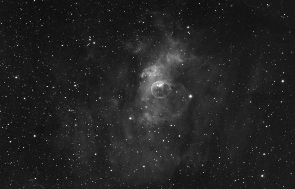NGC7635 Bubble nebula crop
