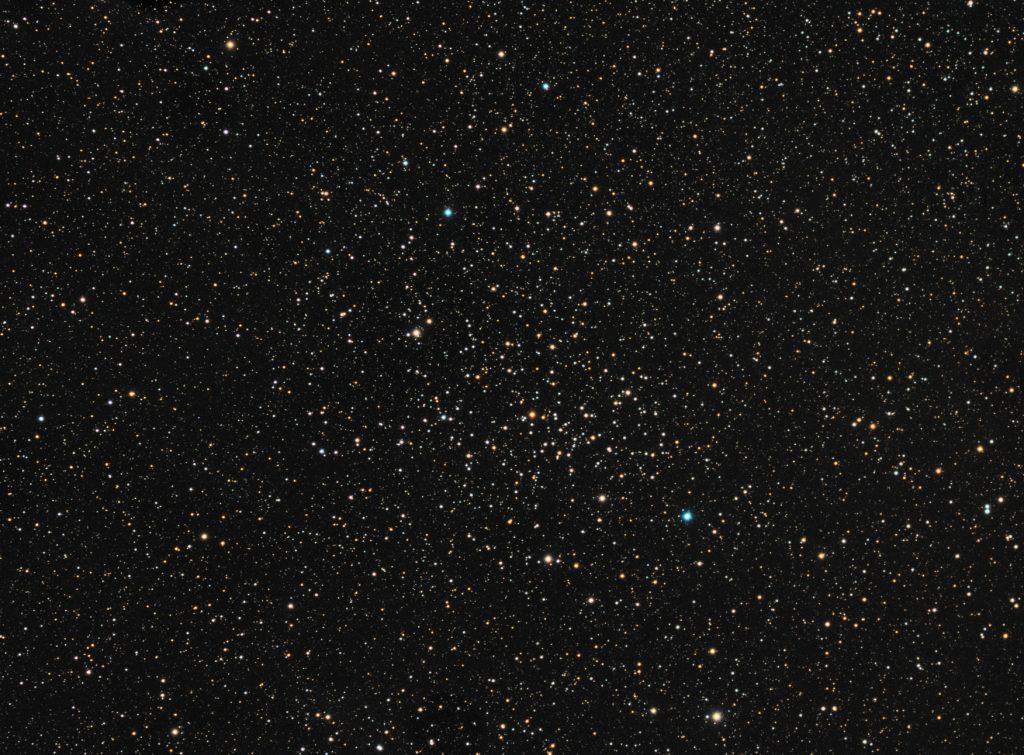 NGC6940 open cluster in Little Fox
