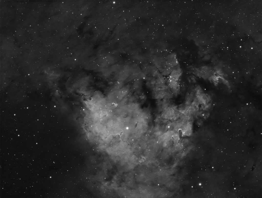 NGC7822 star nursery in Cepheus