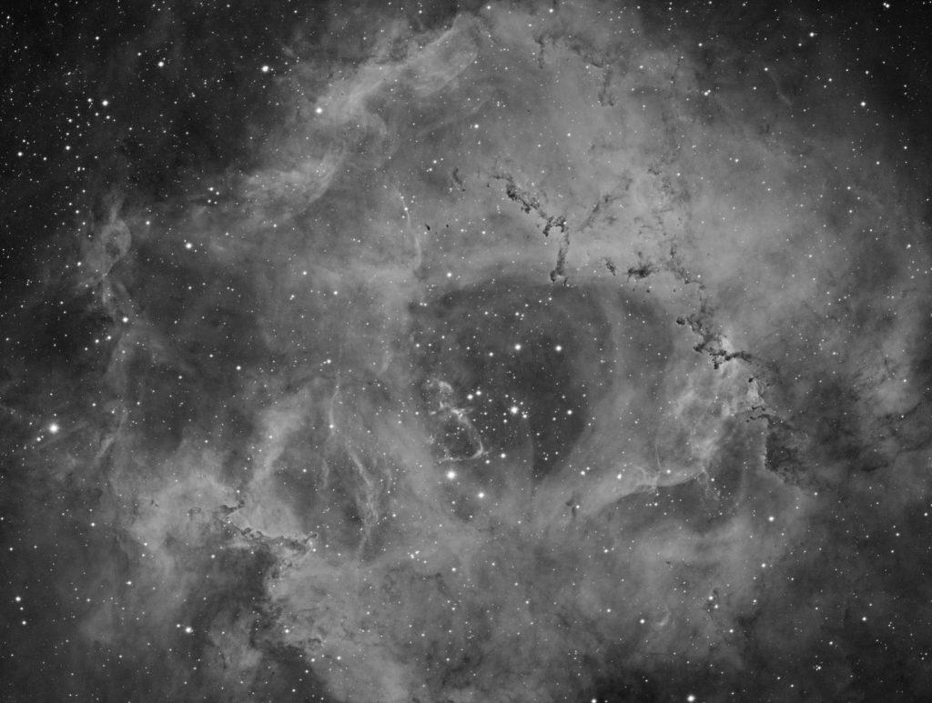 Rosette nebula complex in Monoceros