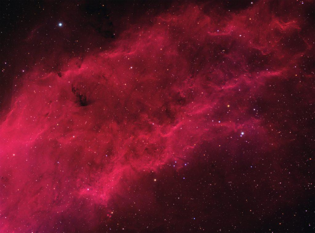 NGC1499 California nebula in HaRGB