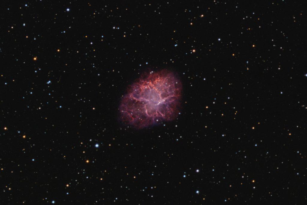 M1 Crab nebula HOiiiRGB composite - 620 minutes total