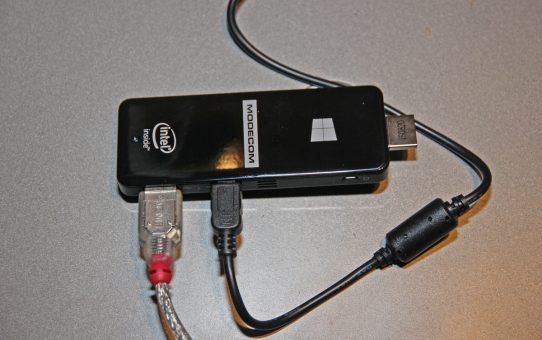 Mini PC stick - one ounce to control thousands