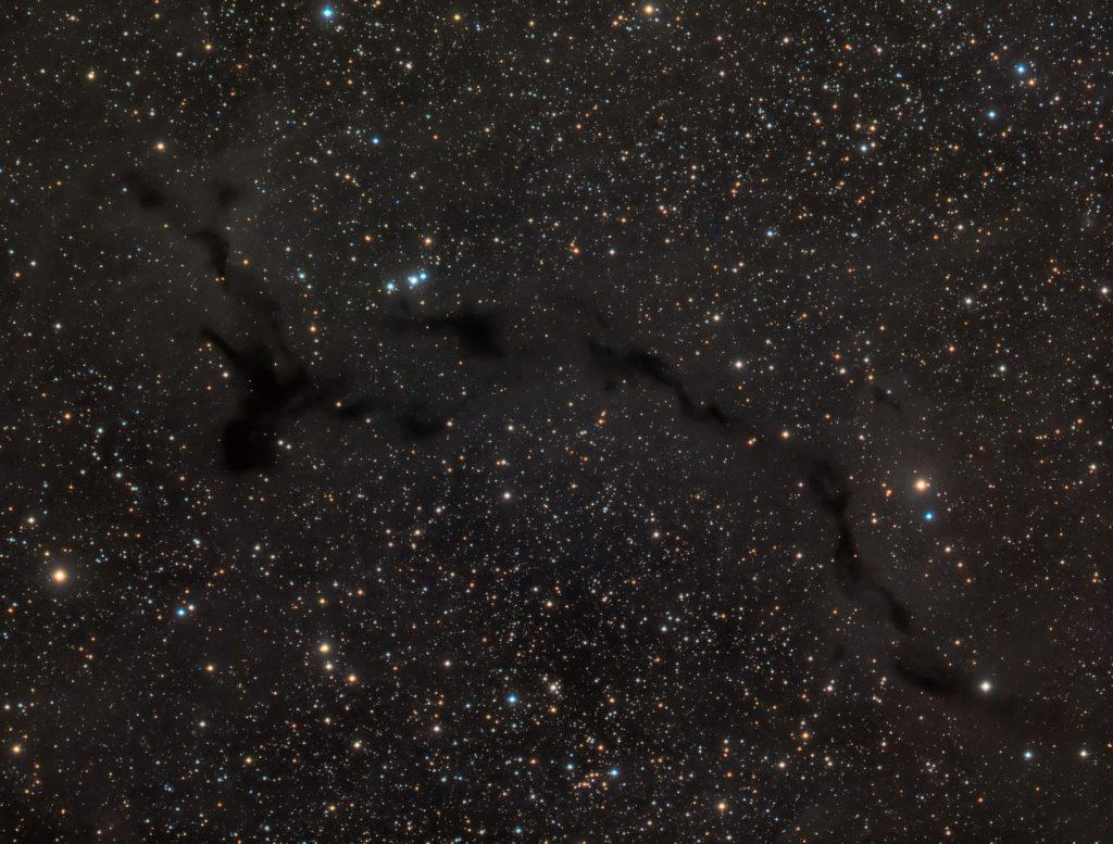 Barnard 150 nebula in Cepheus