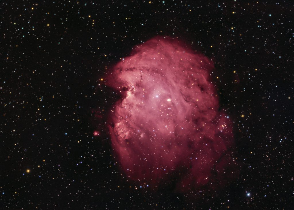 NGC2175 Monkey Head nebula