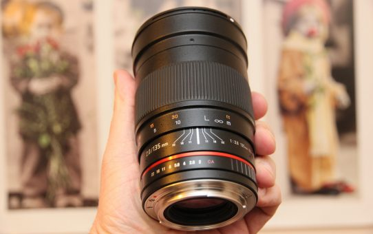 Samyang 135 f/2 ED UMC for fast widefields