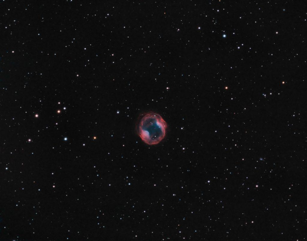 Jones Emberson 1 planetary nebula in Lynx