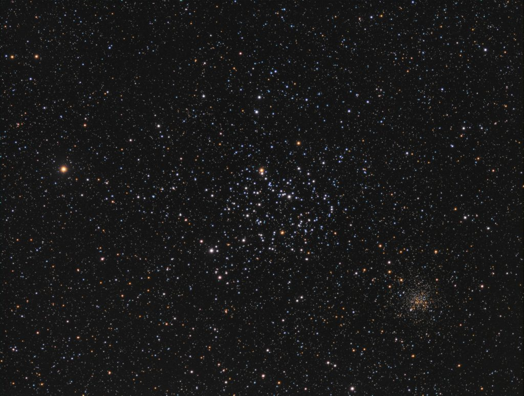 M35 imaged with EQ6-R and 130mm refractor