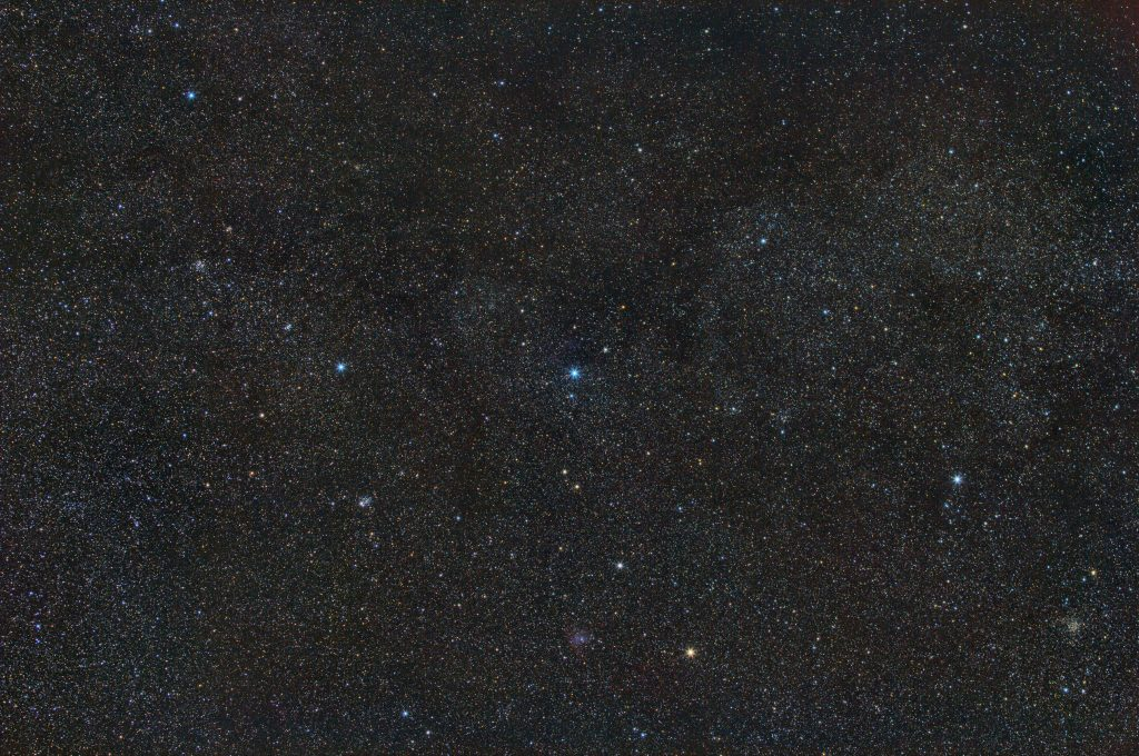 Cassiopeia wide field imaged with EQ6-R