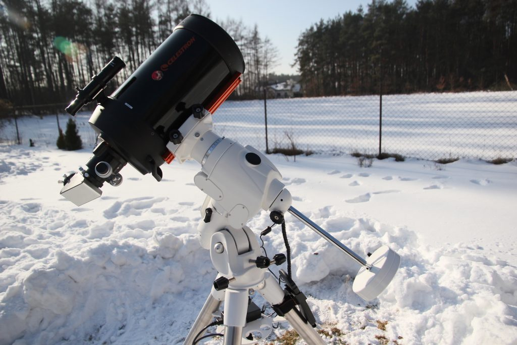 "EQ6-R with 8"" SCT telescope"