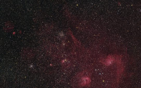 Samyang with two cameras at Auriga