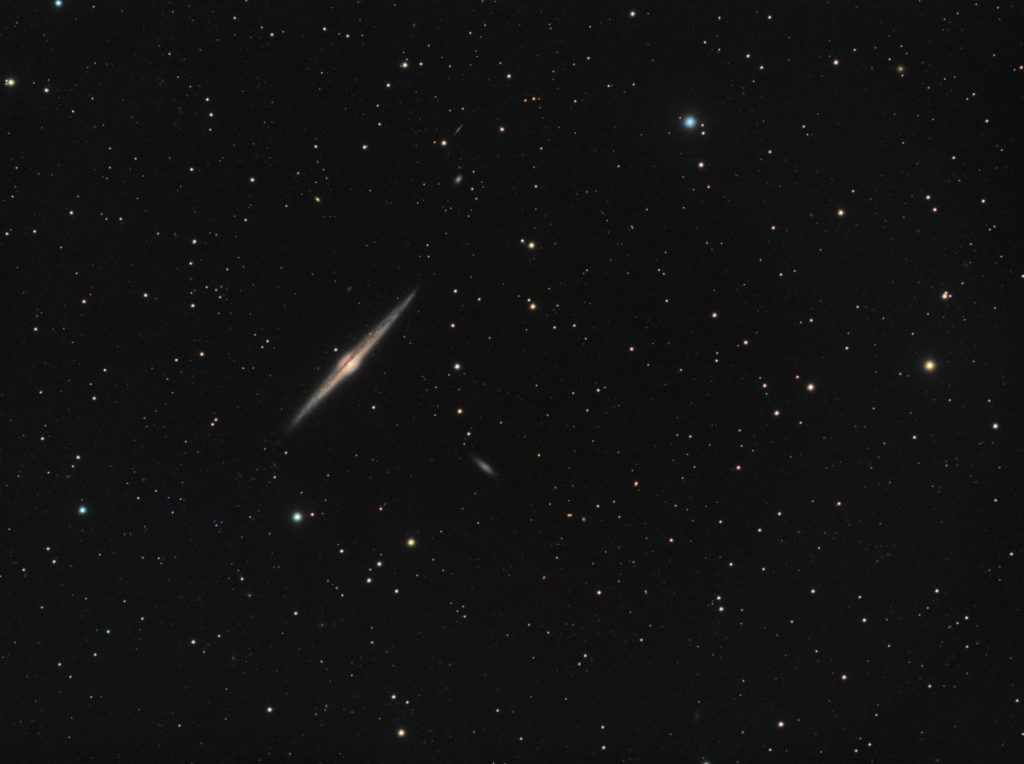 NGC4565 Needle Galaxy in Coma Berenices