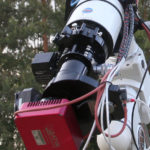 Temperature compensation in astroimaging setup