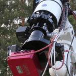 Temperature compensation in astroimaging setup