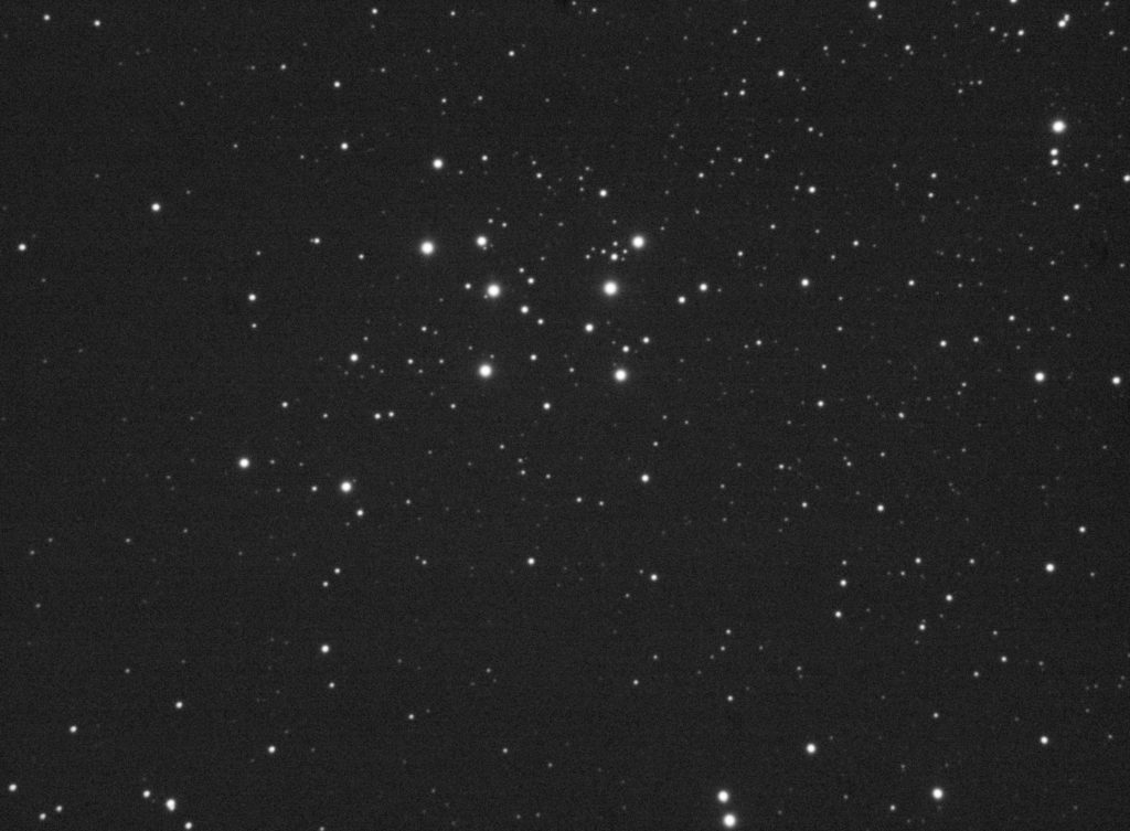 100x3 seconds stack of M29. Stretched, no further processing