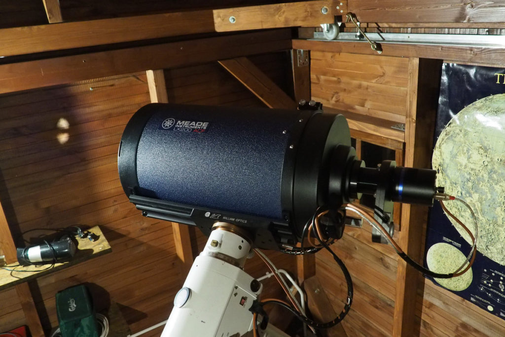 "Meade ACF 10"" on EQ6 mount"
