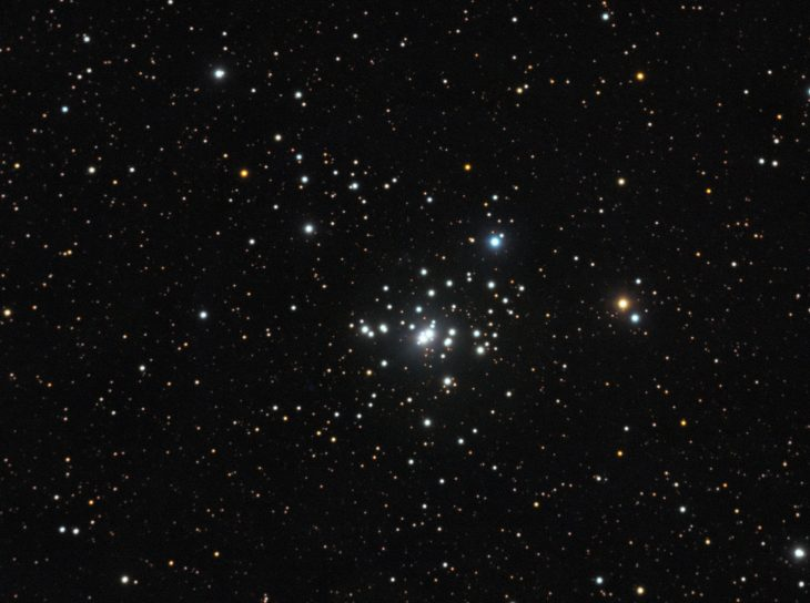 NGC1502 open cluster in Camelopardalis