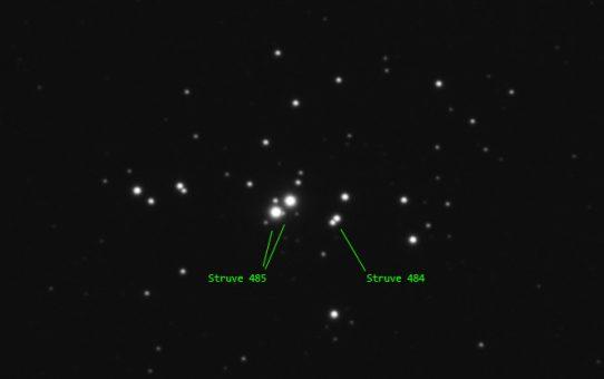 Double double in NGC1502