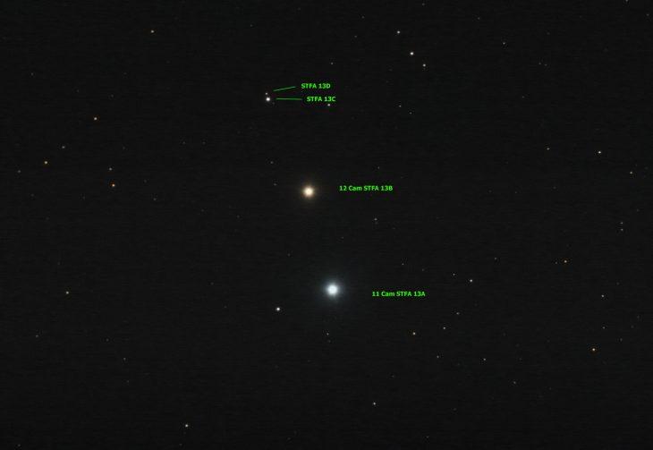 STFA 13 star system