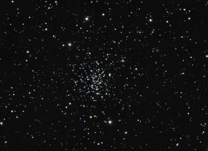 NGC2420 open cluster in Gemini