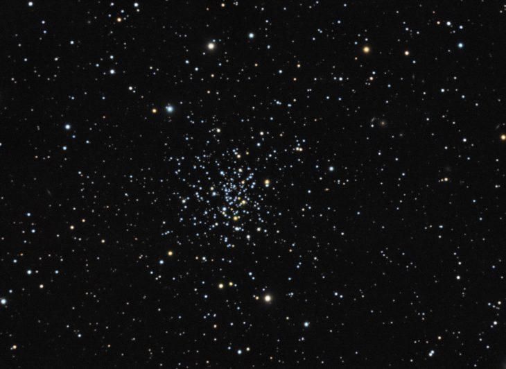 NGC2420 open cluster in Gemini