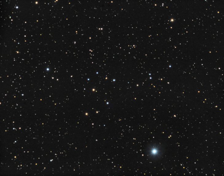 NGC2394 (probably) open cluster in Canis Minor