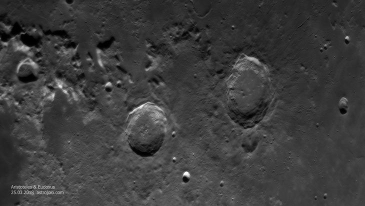 Aristoteles and Eudoxus craters