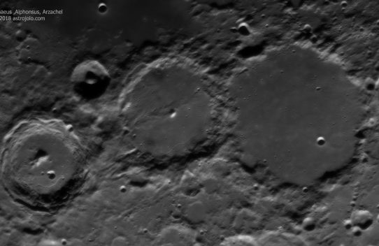March 2018 Moonscapes
