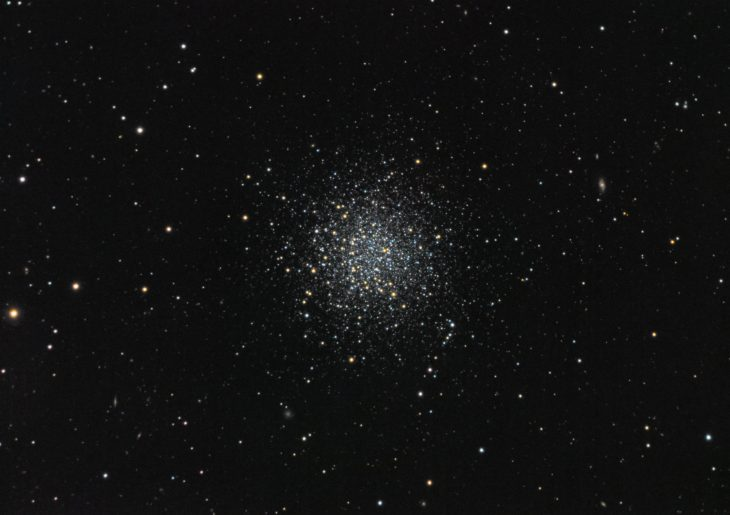 NGC5466 globular cluster in Bootes